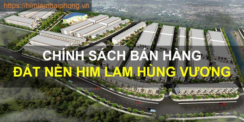 Cập nhật chính sách bán hàng Đất nền Him Lam Hùng Vương mới nhất 2019