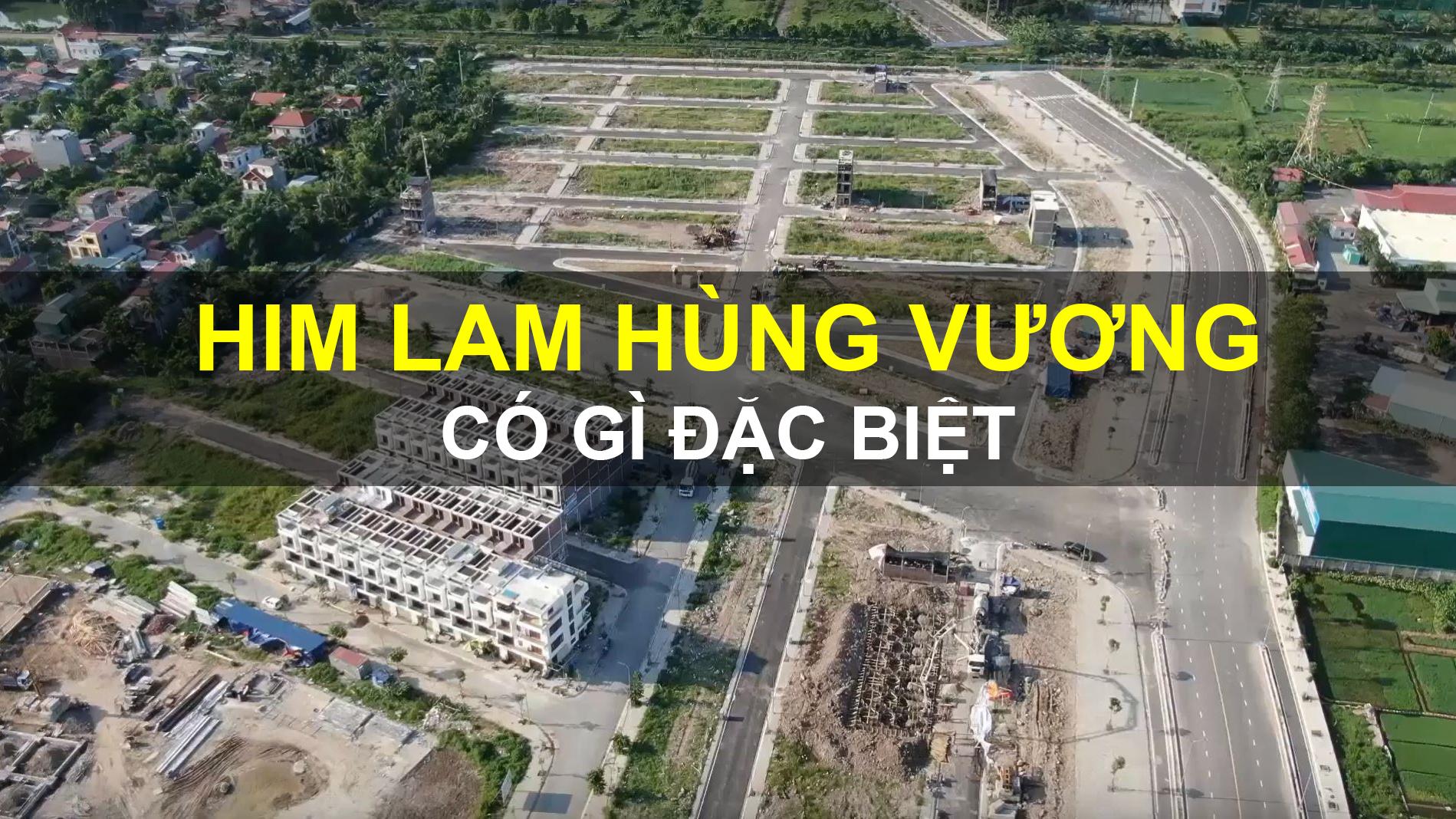 Him Lam Hùng Vương - Dự án nhà liền kề đáng mua nhất Hải Phòng 2019