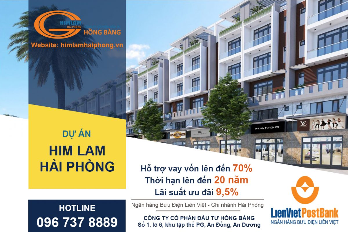 Mua nhà Him Lam Hải Phòng có được ngân hàng nào cho vay không